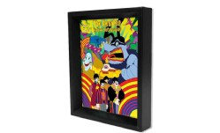 Beatles - Yellow Submarine 8x10 3d Shadow Box (General merchandise)