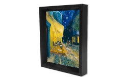 Van Gogh - Cafe Terrace 8x10 3d Shadow Box (General merchandise)