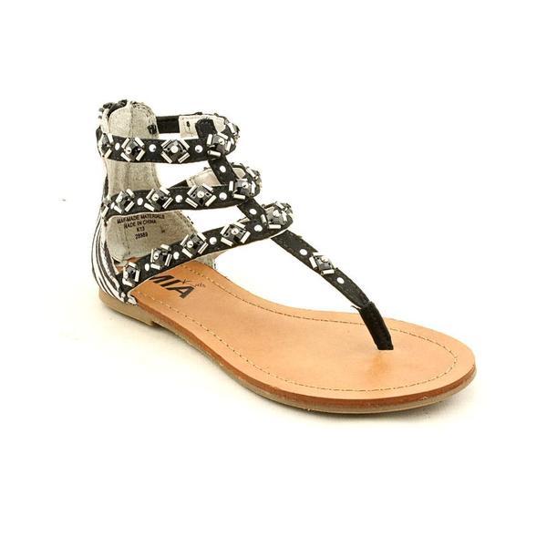 Mia Kids Girl (Youth) 'Gabby' Basic Textile Sandals