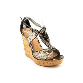 Naughty Monkey Women's 'Belize' Leather Sandals