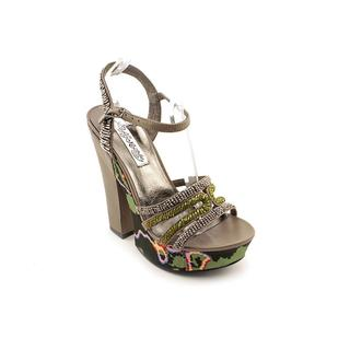 Naughty Monkey Women's 'Lilly' Leather Sandals