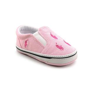 Ralph Lauren Layette Girl (Infant) 'Bal Harbour Repeat' Basic Textile Casual Shoes