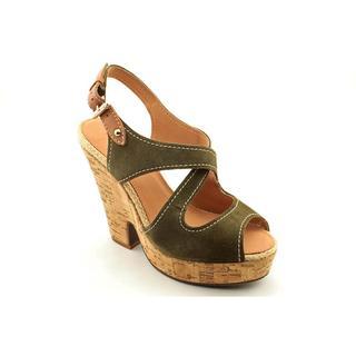 Madison Harding Women's 'Wanda' Regular Suede Sandals