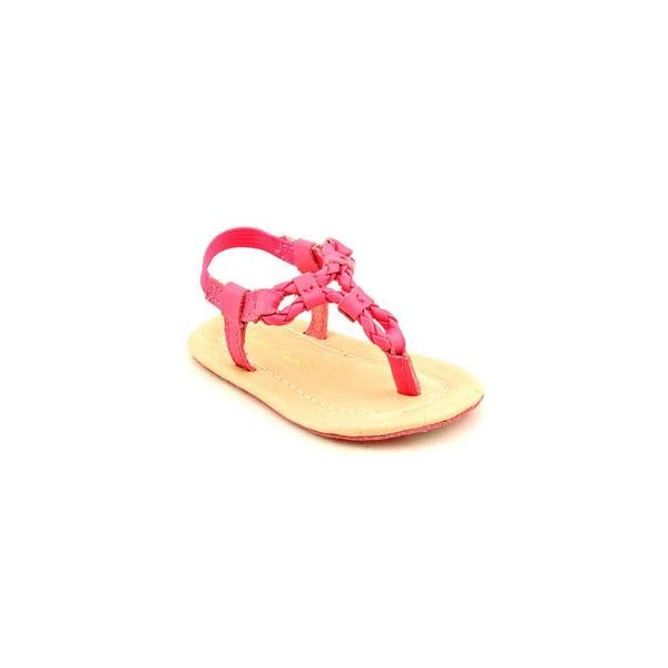 Ralph Lauren Layette Girl (Infant) 'Alexa' Man-Made Sandals