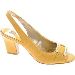 Women's Anne Klein Urbain Yellow Synthetic