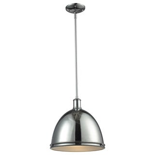 Z-Lite Mason 1-light Chrome Pendant