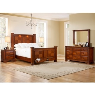 Smithfield Bed Dresser Mirror Nightstands Bedroom Set
