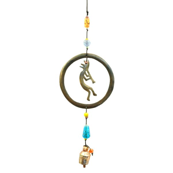 Handmade Dancing Circles Wind Chime (India)