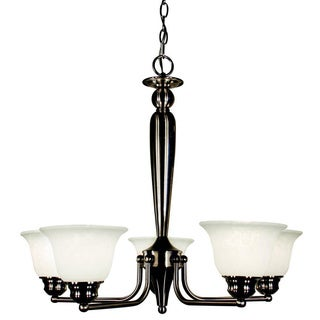 Huntingdale 5-light Brushed Nickel Chandelier