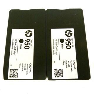 2PK Genuine OEM HP 950 CN049A Ink Cartridge HP OfficeJet Pro 200 251 276 8100 8600 8600 N911 N811