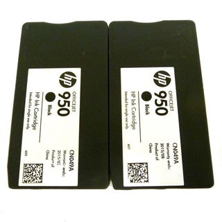 2PK Genuine OEM HP 950 CN049A Ink Cartridge HP OfficeJet Pro 200 251 276 8100 8600 8600 N911 N811