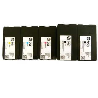 5PK Genuine OEM HP 950 951 CN049A CN050A CN051A CN052A Ink Cartridge HP OfficeJet Pro 200 251 276 8100 8600 8600 N911 N811