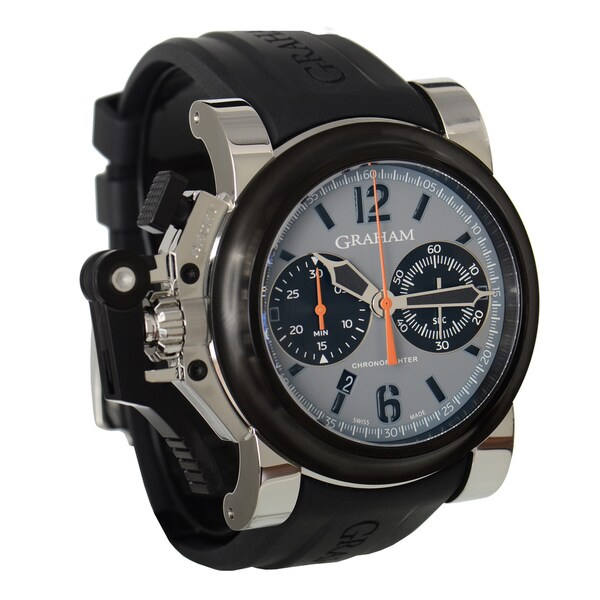 Graham Men's 'Chronofighter' Oversize Automatic Grey Watch