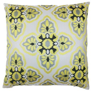 Mulberry Decorative Feather Filled Throw Pillow