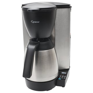 Capresso MT600 Plus 10-Cup Programmable Coffee Maker With Thermal Carafe (Refurbished)