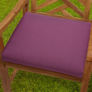 Bristol 19-inch Purple Orchid Chair Cushion with Sunbrella Fabric