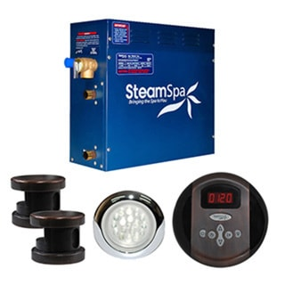 SteamSpa Indulgence 12kw Steam Generator Package in Oil Rubbed Bronze