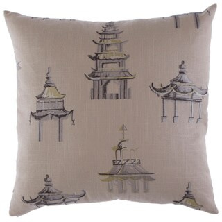 Palacio Decorative Feather Filled 24-inch Throw Pillow