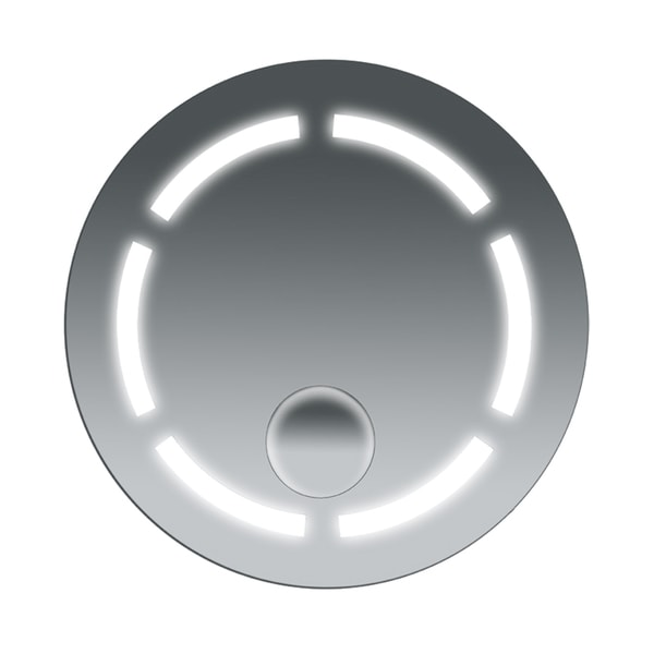 Fog Free Bathroom SteamSpa Round Mirror