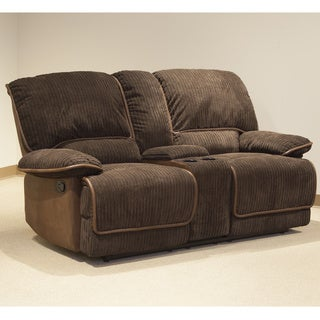 Reggie Denver Chocolate Reclining Loveseat