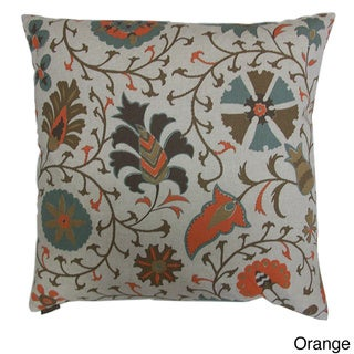 Calypso Decorative Feather Filled Throw Pillow