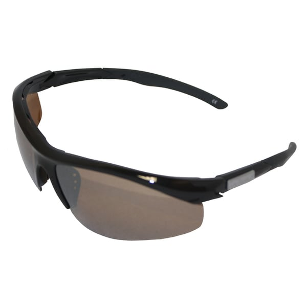 Fly Fish Spector Black Frame Amber/ Silver Mirror Sunglasses