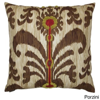 Java Moon Decorative Feather Filled Throw Pillow