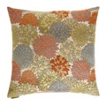 24-inch Mumsford Floral Feather Filled Throw Pillow
