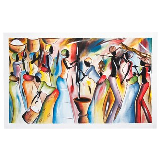 Celebration Preparation Canvas Art (Malawi)