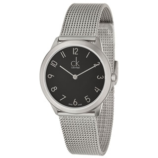 Calvin Klein Women's 'Minimal' Stainless Steel Swiss Quartz Watch
