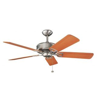 Brushed Nickel Transitional Ceiling Fan