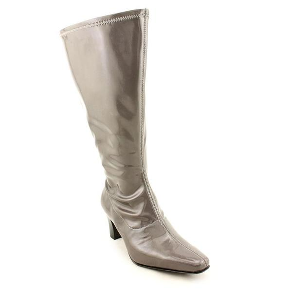 David Tate Women's 'Denver' Patent Boots - Extra Wide