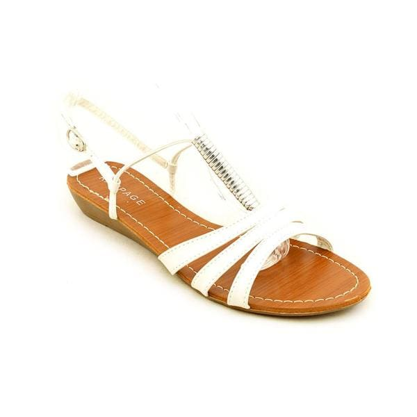 Rampage Women's 'Qamra' Faux Leather Sandals