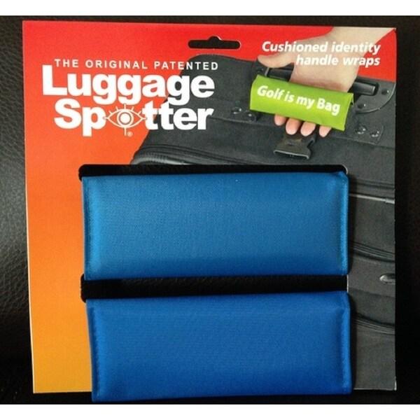 Original Patented Bright Blue Luggage Spotter
