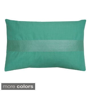 Stacy Matte Sequin Feather Fill Throw Pillow