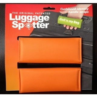 Original Patented Bright Orange Luggage Spotter (Set of 2)