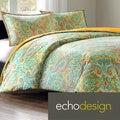 Echo Design Beacons Paisley Cotton 3-piece Duvet Cover Set