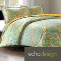 Echo Beacon's Paisley Cotton 3-piece Duvet Cover Set
