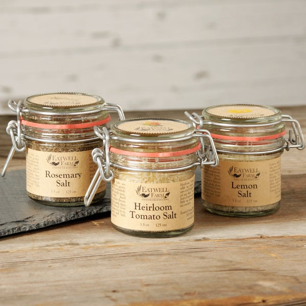 Eatwell Farm Rosemary, Lemon and Heirloom Tomato Seasoned Salts