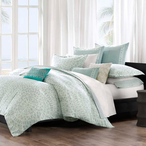 Echo Design Mykonos Cotton Duvet Cover and Sham sold separately (As Is Item)