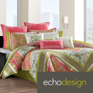 Echo Design Gramercy Paisley Cotton Duvet Cover/Sham