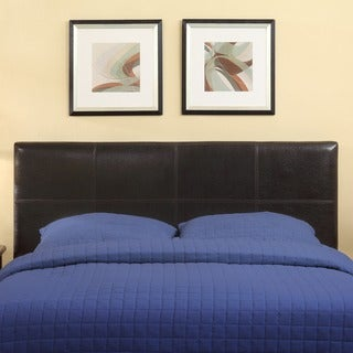 Square Synthetic Leather Upholstery Headboard