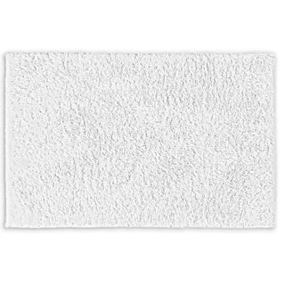 Grace Cloud White Cotton 30 x 50 Bath Rug