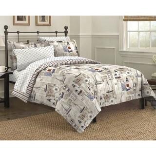 Cape Cod 7-piece Bed in a Bag with Sheet Set