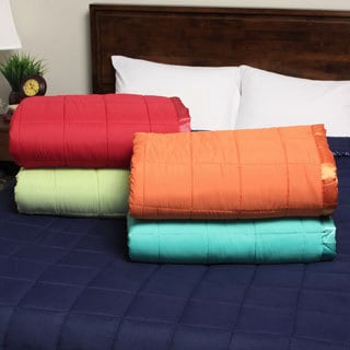 Expressions Down Alternative Bright Solid Colored Blanket