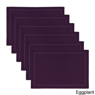 Royal Linen Solid Placemats (Set of 6)
