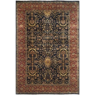 Safavieh Hand-knotted Farahan Sarouk Multi Wool Rug (6' x 9')