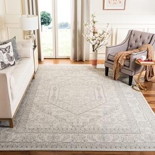 Safavieh Adirondack Ivory/ Silver Rug (8' x 10')