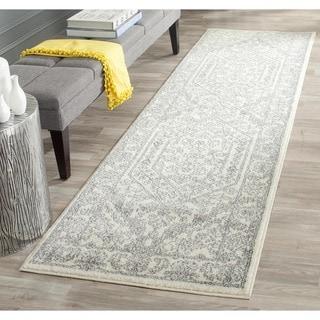 Safavieh Adirondack Ivory/ Silver Rug (2'6 x 8')