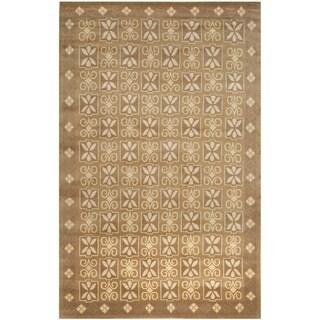 Safavieh Hand-knotted Nepalese Multi Wool/ Silk Rug (8' x 10')
